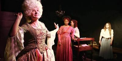 The Revolutionists at Epic Theatre Company [photo: Dave Cantelli]