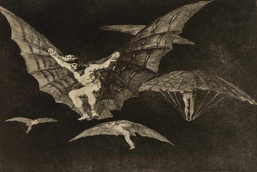Goya A Way of Flying (Modo de volar) Where There's a Will, There's a Way (Donde hay ganas hay maña)