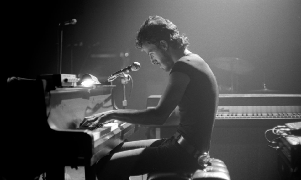 Bruce Springsteen performs at the Harvard Square Theatre on May 9, 1974, from WBCN and The American Revolution Credit Barry Schneier