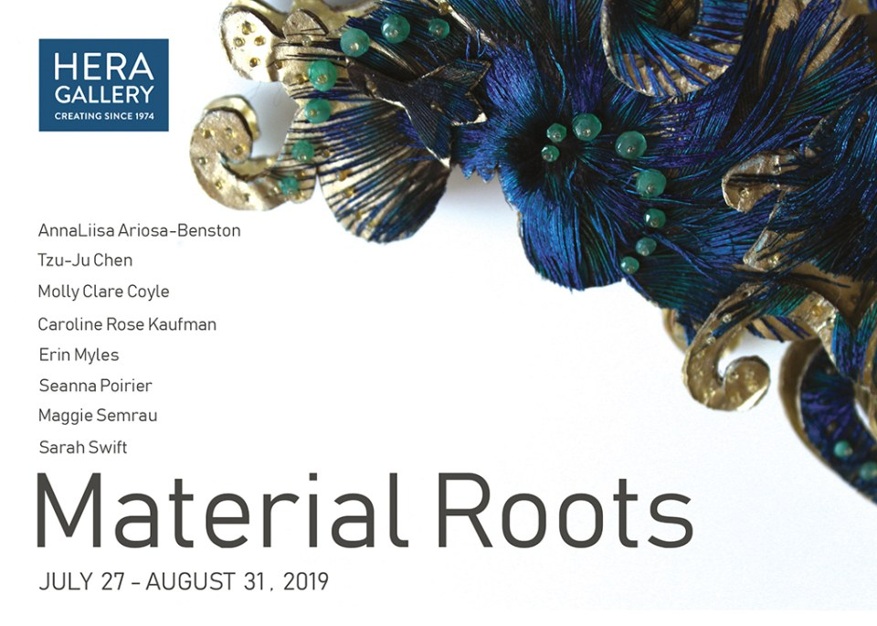 Material Roots at Hera Gallery in Wakefield RI