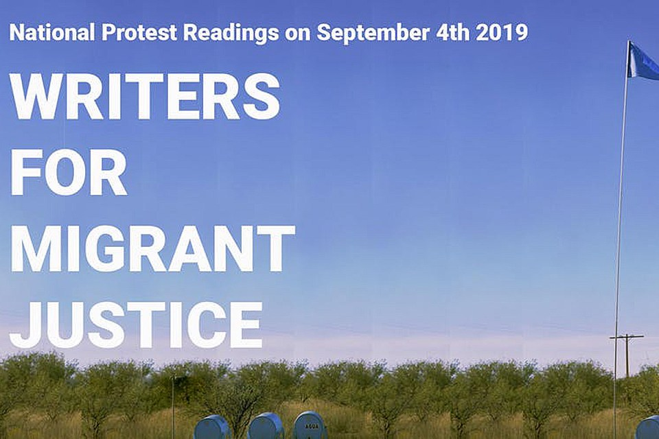 writers for migrant justice fundraiser