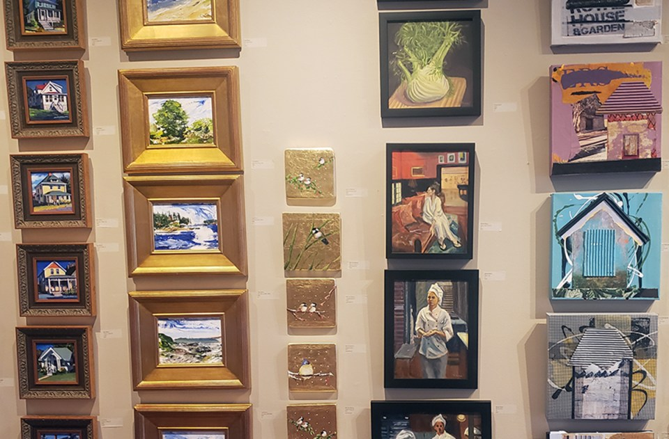Little Pictures at Providence Art Club