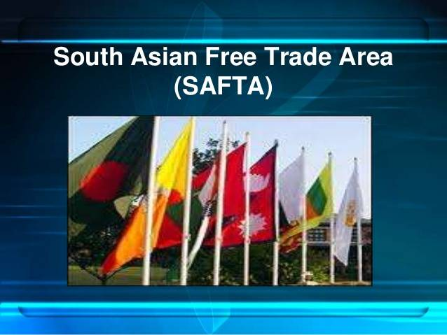 SAFTA The Basic Principles of South Asian Free Trade Area Agreement