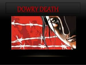 DOWRY DEATH