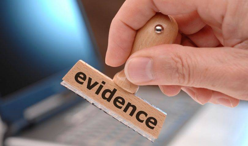 evidence Admissibility of Evidence