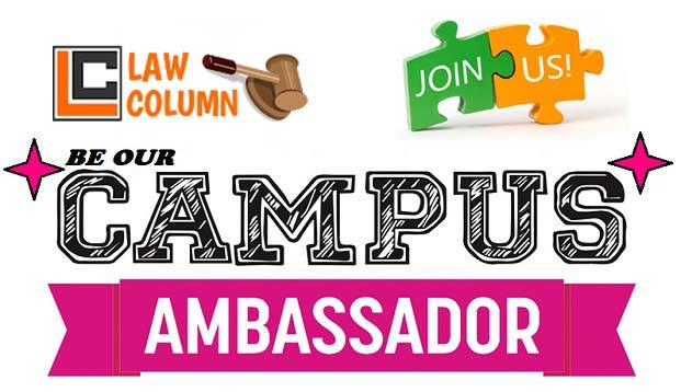 law column campus ambassador programme