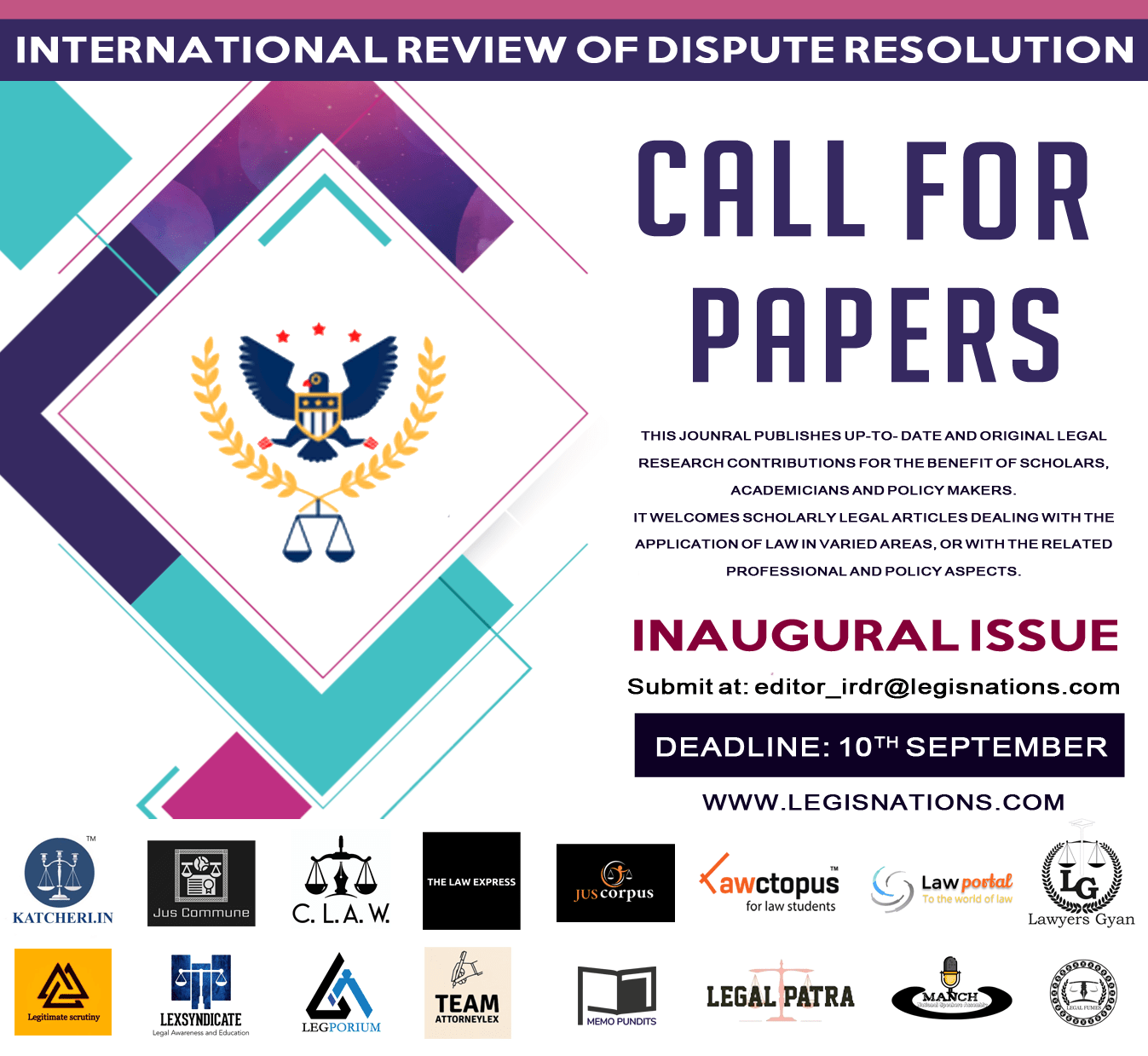 cfp Poster Call for Papers- IRDR