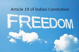 Article 19 of constitution of india