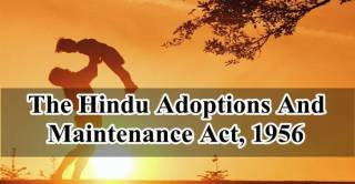 Hindu adoptions and maintenance act 1956