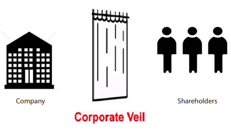 Lifting of Corporate Veil under Companies Act, 2013