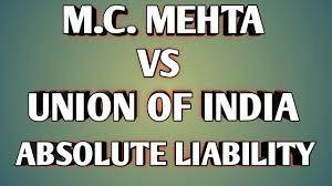Oleum Gas Leak Case - MC Mehta v. Union of India