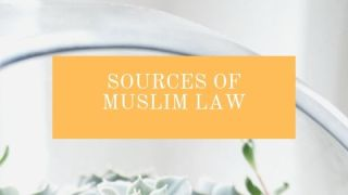 Sources of Muslim law