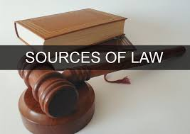 Legislation as a source of Law