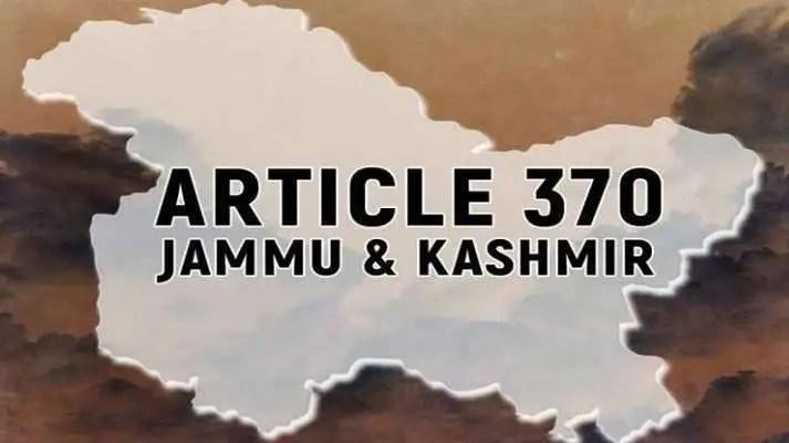 ARTICLE 370 – New Era of Kashmir