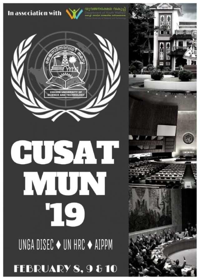 CUSAT MUN 2019 Kochi