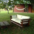 muebles de roble para decorar el jardín