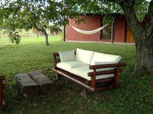 Muebles con material reciclado 3