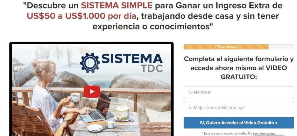 sistema de negocio online