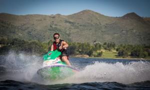 Deportes acuáticos en Lago Los Molinos