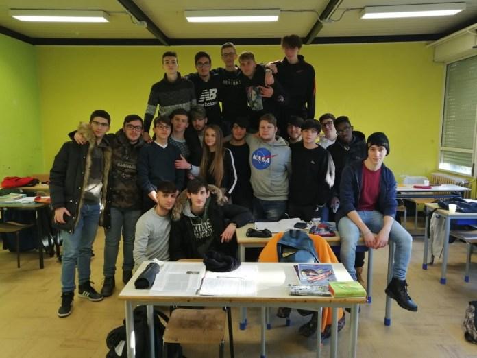studenti classe progetto vincente