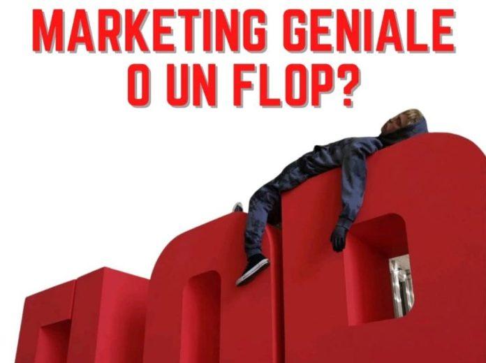 Marketing album Flop Salmo