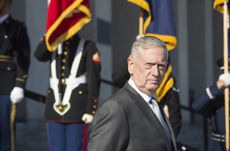James Mattis; Credit: Chairman of the Joint Chiefs of Staff/Wikicommons