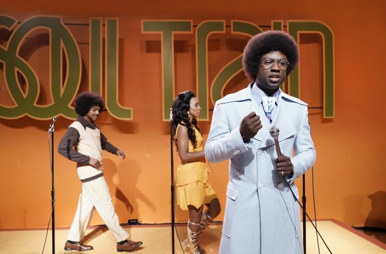 Sinqua Walls as Don Cornelius in American Soul; Credit: Jace Downs/BET