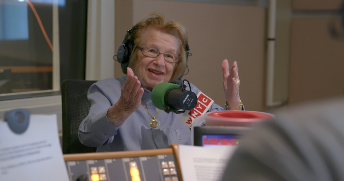 Ryan White directed the documentary Ask Dr. Ruth.; Credit: Courtesy Hammer Museum