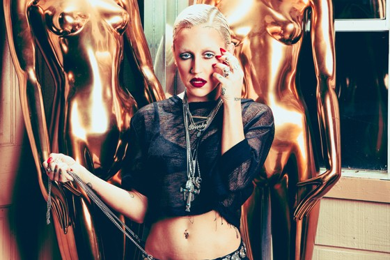 Brooke Candy; Credit: Ryan Orange
