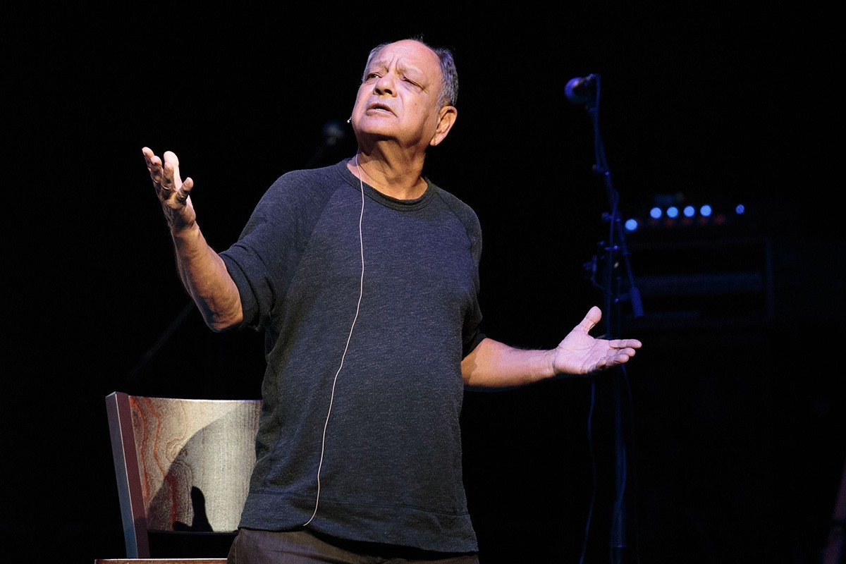 Cheech Marin on the Cheech and Chong Up in Smoke The Tour in 2016; Credit: Suzanne Cordeiro/REX/Shutterstock
