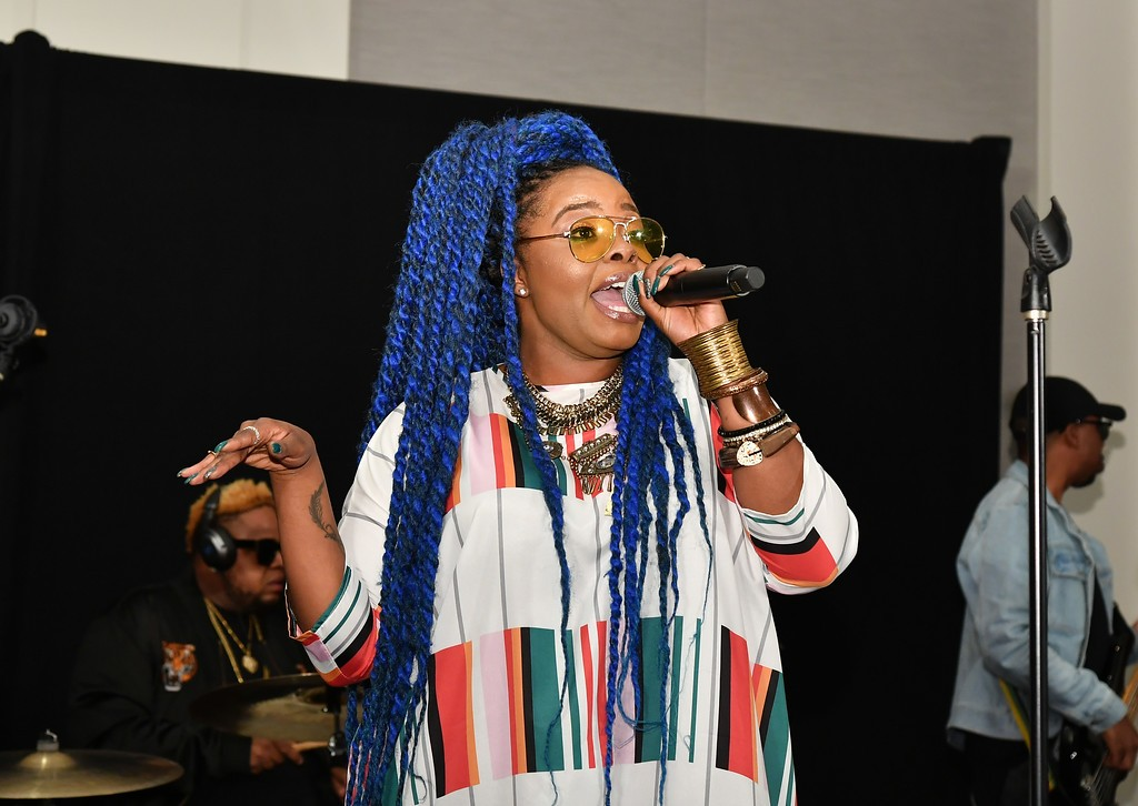 Performer from Saturday's NAACP Image Awards Nominee Luncheon.; Credit: Courtesy NAACP