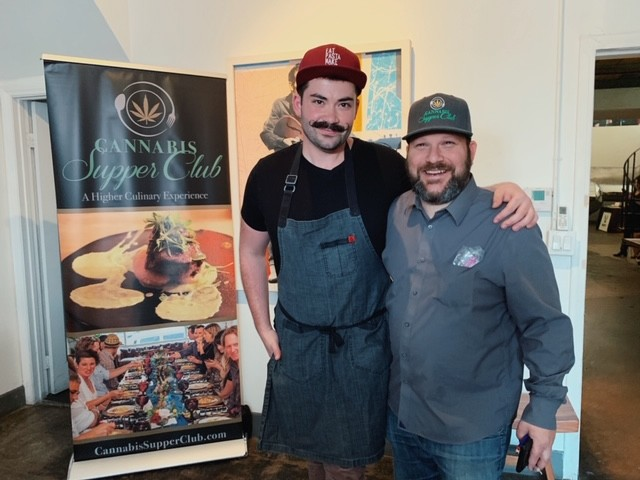 Chef Joe Sasto, left, and Marc Leibel; Credit: @bmrsfoodjobs