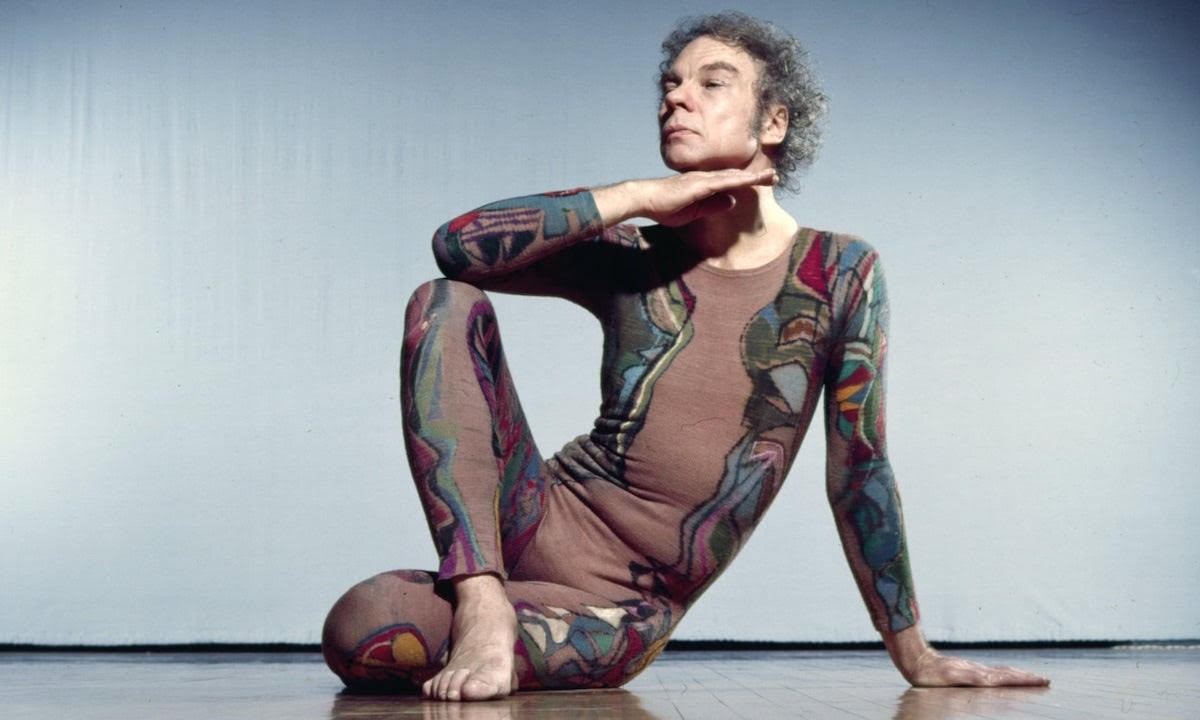 Merce Cunningham; Credit: Jack Mitchell/Courtesy Getty Images