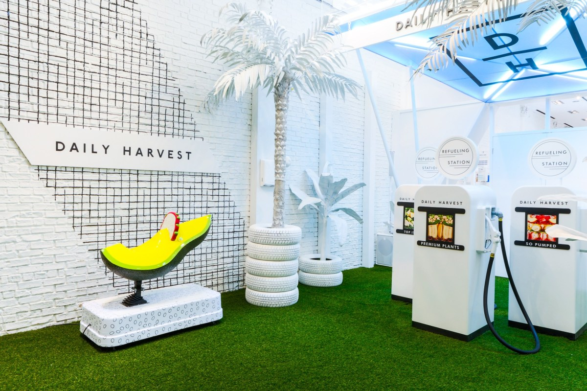 Daily Harvest Refueling Station; Credit: Daily Harvest