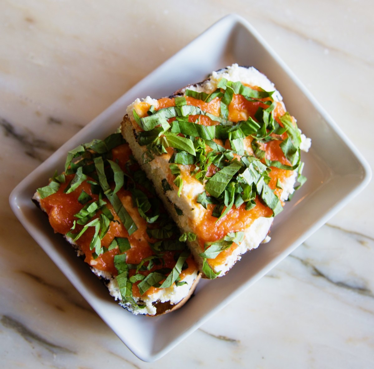 Red Herring ricotta toast; Credit: Bread & Butter