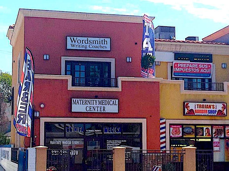 Wordsmith's South L.A. storefront; Credit: Courtesy Nic Nelson