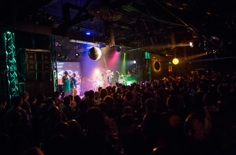The Echoplex on a typically packed evening.; Credit: Carl Pocket