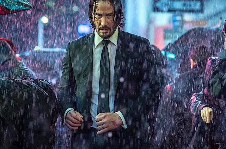 Keanu Reeves in John Wick 3: Parabellum; Credit: Niko Tevernise/Lionsgate