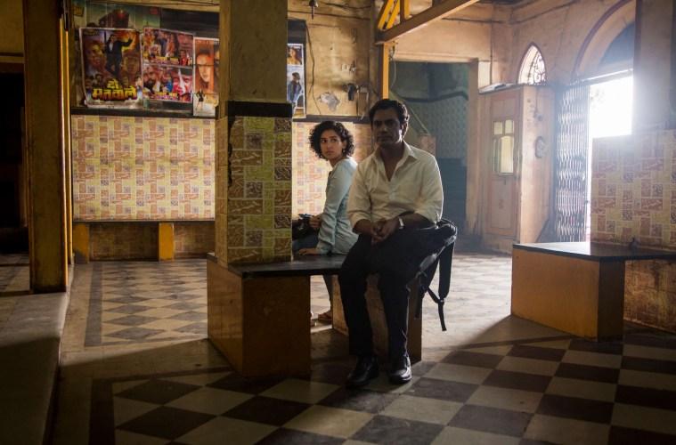 Sanya Malhotra and Nawazuddin Siddiqui in Photograph; Credit: Amazon