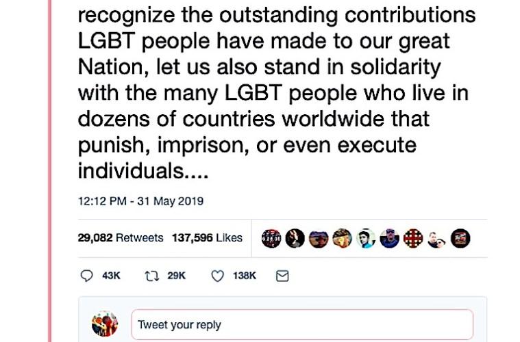 Credit: Donald Trump via Twitter