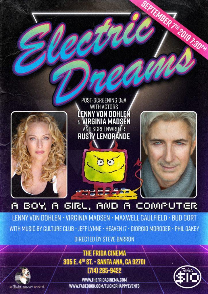 Electric Dreams (1984) + Q&A with actors Lenny Von Dohlen, Virginia Madsen & screenwriter Rusty Lemorande