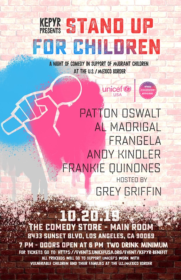 """A NIGHT OF COMEDY TO """"STAND UP FOR CHILDREN"""""""