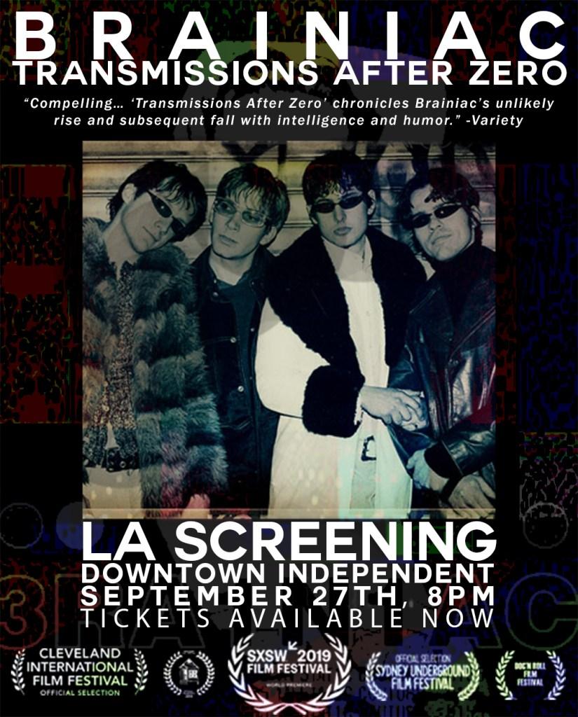 Brainiac:  Transmissions After Zero Screening