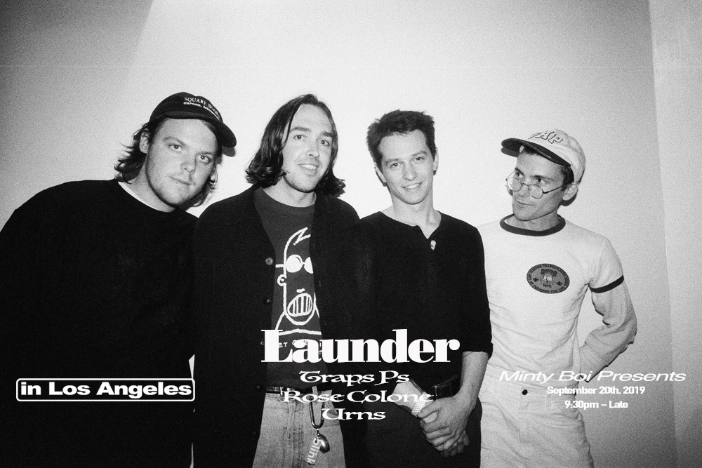 Launder, Traps PS, Rose Cologne, Urns & Argyles