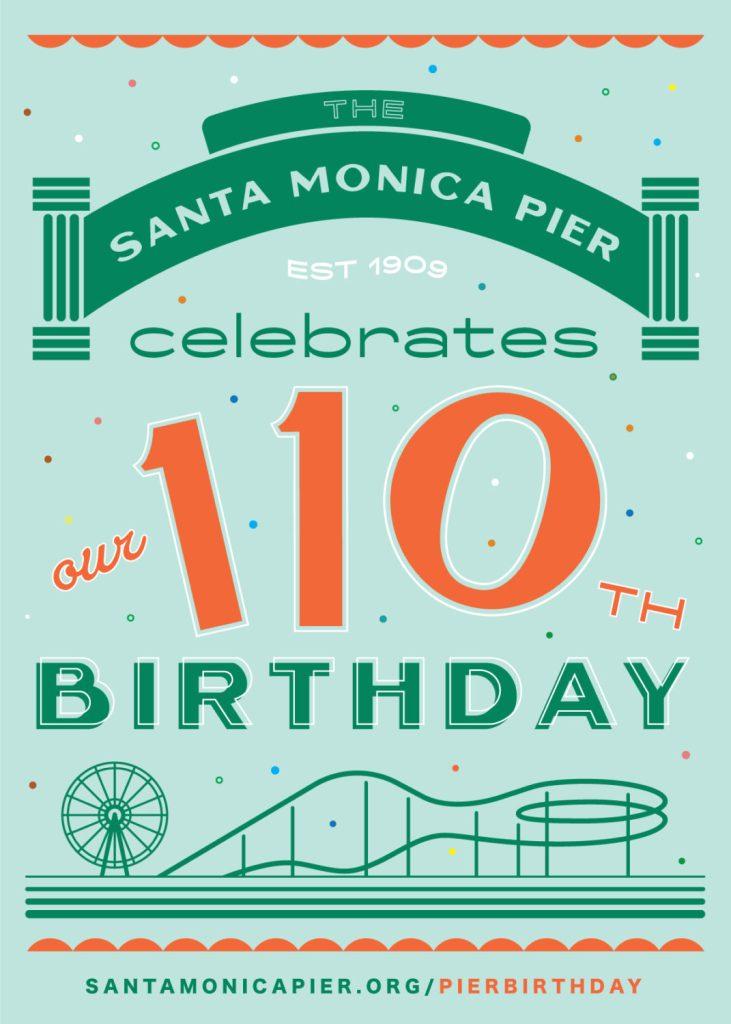 THE ICONIC SANTA MONICA PIER TURNS 110!