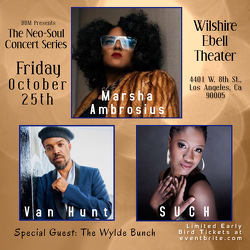 DDM Presents the Neo-Soul Concert Series