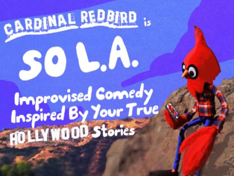 Search History & Cardinal Redbird (Improv Comedy)