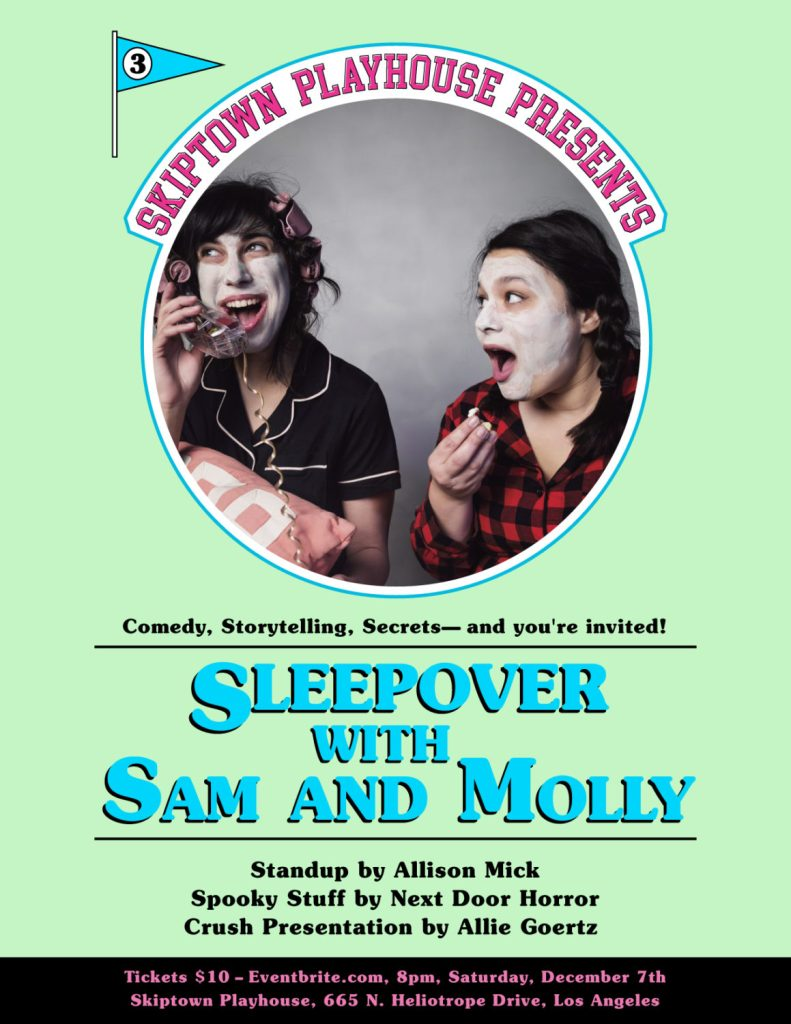 Sleepover With Sam and Molly: A Variety Show
