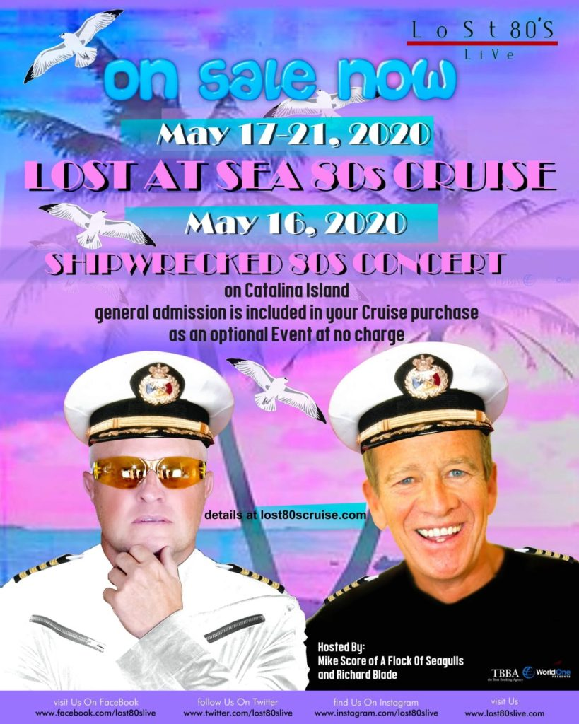 Lost at Sea '80s Cruise