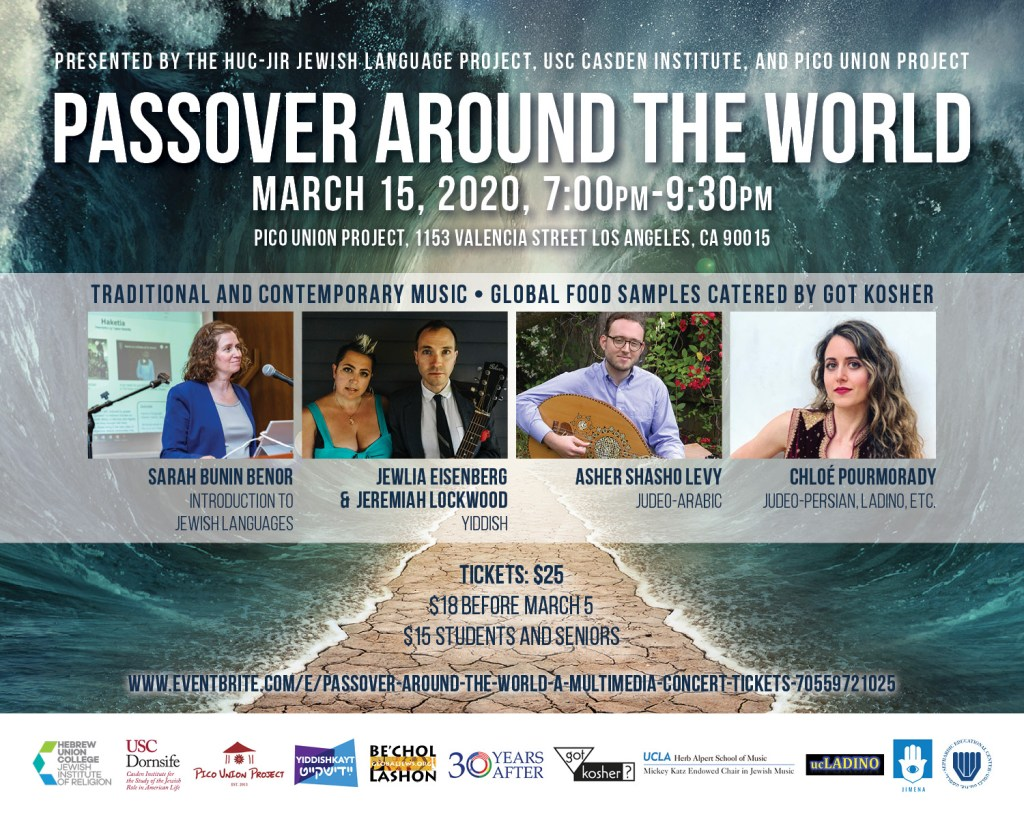 Passover Around the World: A Multimedia Concert